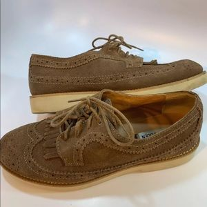 Steve Madden Brogues Brown Leather Casual Shoes